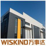 Sola Estructura de acero Span/Edificio Pórtico Stuctture acero/acero Construcción