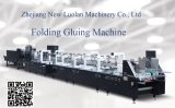 Caja de cartón corrugado y la impresión y plegado de la máquina (GK-650GS)