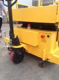 levage personnalisé électrique automoteur de ciseaux de 7.5m plein