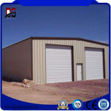 Estructura de acero de la casa modular garaje