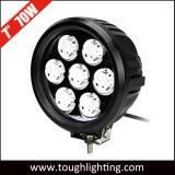 """Alta potencia DC 12V/24V IP67 7"""" 70W Ronda CREE LED de luz de trabajo para los vehículos todoterreno"""