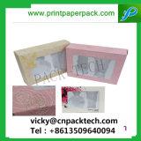 Ventana de PVC Fullset lujo personalizado Embalaje Joyero Electrionic regalo Caja de cartón de embalaje de productos