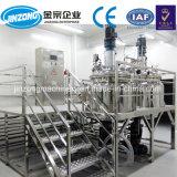 Het Verwarmen van Jrka van Jinzong Elektrische Automatische 100L Kosmetische Vacuüm het Homogeniseren Emulgator, Homogeniserende Tank voor Room, Gel, Zalf