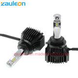 Luxeon Zesの自動LEDのヘッドライトHb4 9006の球根は6000の内腔EMCドライバーを欠く