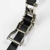 ステンレス鋼のラチェットはストラップを打つ貨物のためのベルトの留め金を結ぶ
