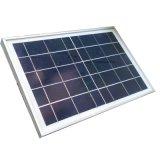 50W 12V Panel Solar utilizado en la luz de la calle