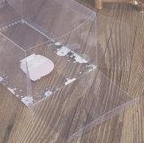 Dom pequena caixa de exibição de plástico de PVC transparente