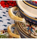 Высокое качество 5 ПК эмаль набор для приготовления пищи с крышкой