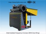 De middelgrote Smeltende Oven van de Inductie van de Frequentie voor Aluminium, Non-ferro