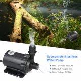 Pompa ad acqua sommergibile di CC di grande flusso 24V piccola per pompaggio dell'acqua solare