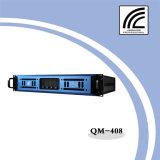 4*800W 4 canaux professionnelle 2u amplificateur de puissance