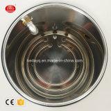 オイルの浴室を循環する密封された磁気サイクル