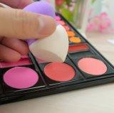 Sans latex éponge maquillage Logo personnalisé Blender deux couleur haute qualité