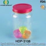 vaso di muratore di plastica della spremuta di 800ml Customzied PS/as con la protezione dello stagno (HDP-3106)