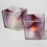 Tee-heller Kerzenhalter-Glaskerze-Glas für Festival-Geschenk
