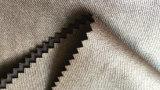 100%年のポリエステルスエードの上塗を施してあるサテンのジャケットファブリック