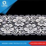 Из жаккардовой ткани Raschel Warp вязания нейлон спандекс эластичное кружево Tricot