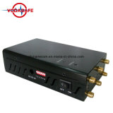 Wi-Fi portátil Celular Jammers Scrambler de amplo espectro, telefone celular de Alta Potência portátil Scrambler bloqueada (PCS DCS GSM CDMA 3G)