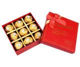 Mayorista de la fábrica de cartón de embalaje de regalo personalizados de Verificación de Chocolate de lujo