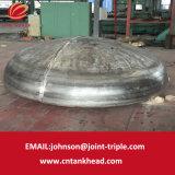 05-36 testa spessa del coperchio delle coperture del acciaio al carbonio della parete per il contenitore a pressione ID2800mm*40mm