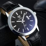 296 ver o logotipo personalizado grossista Mens Calendário relógio com ponteiro luminoso