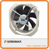 (SFM28080) lames de métal de ventilation de refroidissement d'Échappement Ventilateur axial de la ventilation de l'AC
