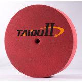 12x1 5p trappe de broyage cercle de roue de rouleau abrasif non tissé en nylon disque de polissage