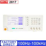 100Hz-100kHz Compteur LCR numérique Brige mch-2817 avec 0,05 % de l'exactitude et de 8 Fréquence d'essai typique Compteur LCR