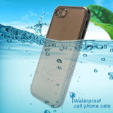 Casos impermeáveis ​​transparentes para o iPhone 7 Water Proof Case