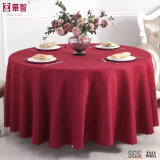 Pano de mesa vermelho jacquard de alta qualidade