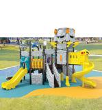 사용된 아이 옥외 플라스틱 운동장 장비