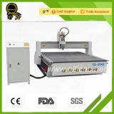Машина CNC поставкы фабрики деревянная высекая с пневматическим изменителем инструмента (QL-M25-X)