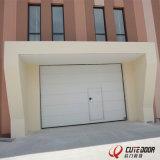 Energy-Efficient промышленная секционная горизонтальная дверь гаража Siding