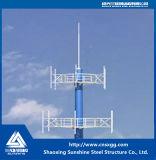 Torretta di comunicazione prefabbricata della struttura d'acciaio per costruzione