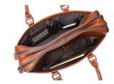 Портфель компьтер-книжки мешка Tote Brown сбор винограда кожаный для Mens