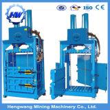 Baler vertical, Baler Máquina para la ropa usada, hidráulica Residuos de papel Baler