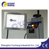 Машина маркировки лазера экрана касания цвета для проводов & кабеля