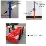 Puntello d'acciaio registrabile resistente registrabile Q235 armatura/di puntellamenti