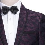 習慣の最新のプリント細い方法余暇の高品質の人のスーツ