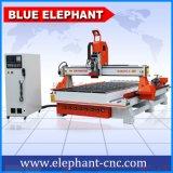 Уцененное цена! ! Маршрутизатор 1530, гравировальный станок CNC оси Atc 4 Jinan маршрутизатора CNC деревянный для прессформы, двери, шкафа, цилиндра