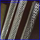 Branello di angolo del metallo galvanizzato materiale interno dello stucco di rinforzo di uso