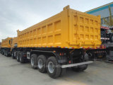 40tons를 위한 3개의 차축을%s 가진 반 덤프 트럭 트레일러 또는 반 팁 주는 사람 트레일러
