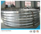 La plaque de face plate de grand diamètre a modifié la bride en acier