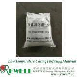 Niedrige Temperatur, die Material durchströmend aushärtet