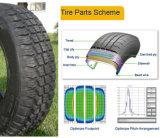 Tout le pneu radial en acier de camion, pneu radial d'autobus, TBR 315/80r22.5