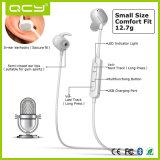 Fone de ouvido inglês original do estéreo do esporte de Earbuds Bluetooth da voz