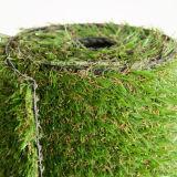 Plastikpflanzenschule-künstlicher Gras-Garn-Grün-Teppich-chinesisches künstliches Gras