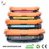 100% Vorlagen-Qualität für Toner-Kassette 504A CE250A CE251A CE252A CE253A HP-Laserjet