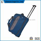 Водонепроницаемый нейлон спортивного движения багажа Duffle Trolley дорожная сумка на колесиках