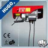Élévateur électrique de câble métallique de la PA 200kg monophasé mini